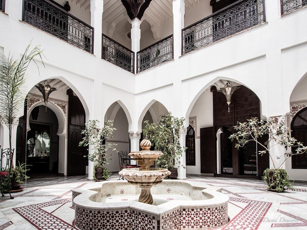 Riads de marrakech maison jardin au maroc vanupied - Maison jardin berlin ...