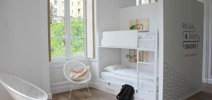 h bergement lyon lieux pas chers ou originaux vanupied. Black Bedroom Furniture Sets. Home Design Ideas