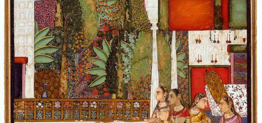 788px-19_Four_Women_in_a_Palace_Garden2C_Bundi2C_mid-18th_century2C_The_David_Collection_2C_Copenhagen.jpg