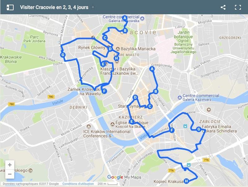 Itinéraire pour visiter Cracovie en 2,3 jours
