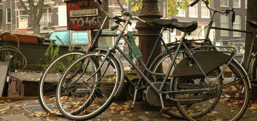 Velo près de Jordaan à Amsterdam par d∂wn@Flickr