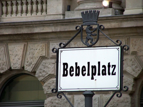 Bebelplatz à Berlin - Photo de Rev Dr Seb@Flickr