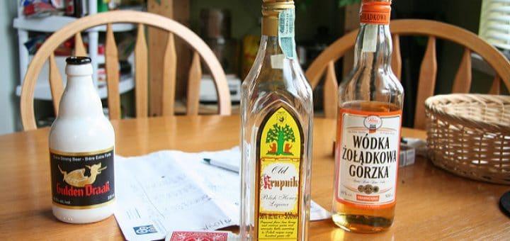 Deux de mes alcools polonais préférés ! - Photo d'Iwona_kellie@Flickr