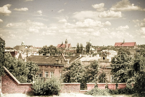 Panorama de Cracovie par bildungsr0man@Flickr