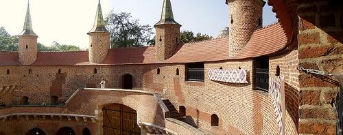 Intérieur du barbacane de Cracovie - Photo de bazylek100@Flickr