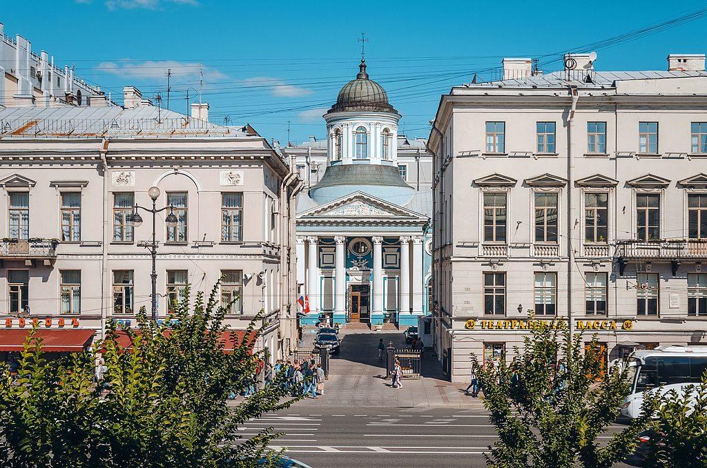 Eglise Arménienne Sainte Catherine à Saint Petersbourg - Photo de Skif-Kerch