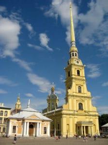 Cathédrale Pierre-et-Paul à Saint Petersbourg : Tombeaux des Romanov