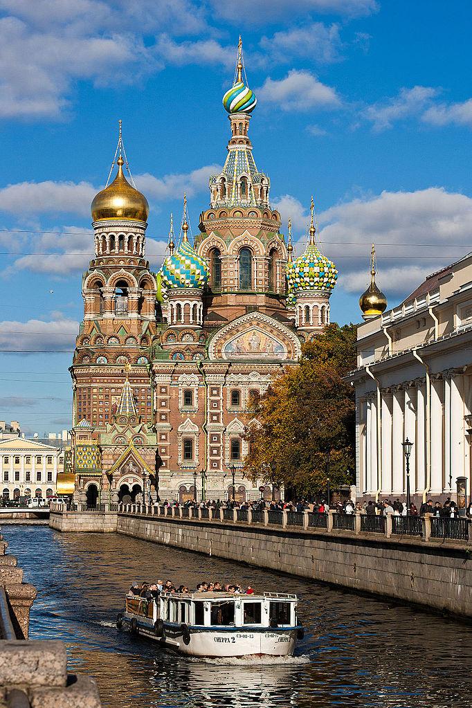 Cathédrale Saint-Sauveur-sur-le-Sang-Versé à Saint Petersbourg