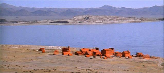 """Plan du film """"L'hommes des hautes plaines"""" de Clint Eastwood"""