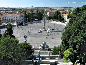 Piazza del popolo à Rome : L'une des plus belles places romaines
