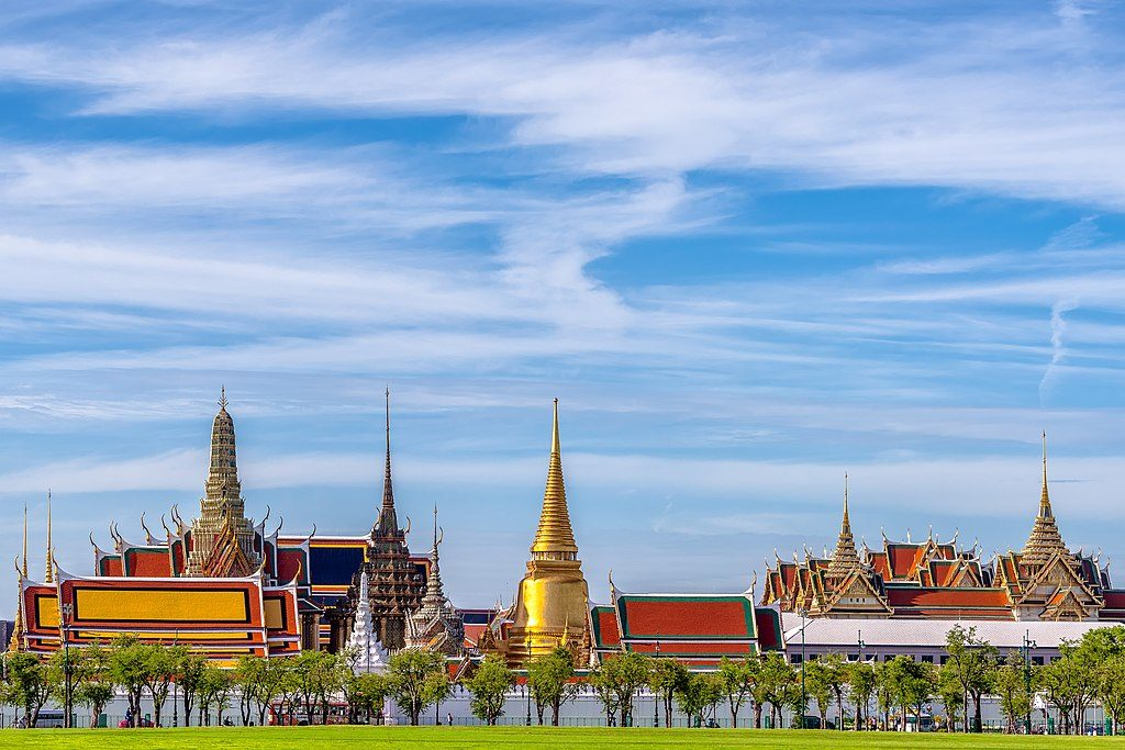Skyline du Palais de Bangkok - Photo de BerryJ