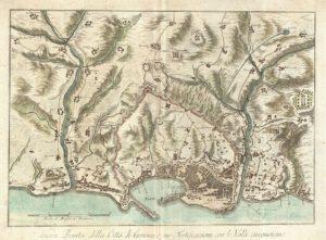 Carte de Gênes : Plan détaillé des lieux intéressants