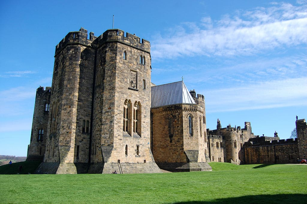 Lieux de tournage d'Harry Potter : Chateau d'Alnwick Castle au nord de l'Angleterre - Photo de James West