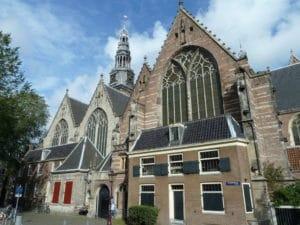 Oude kerk, la plus vieille église d'Amsterdam [Quartier rouge / Vieille ville]