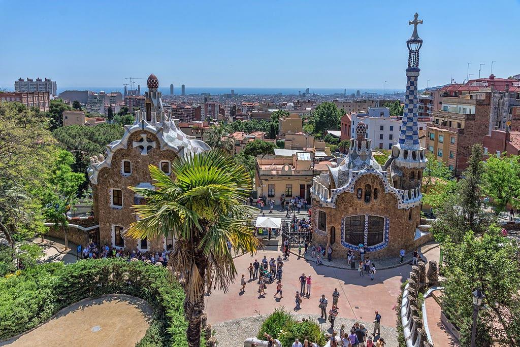 Ville Espagne Banc Mosaique