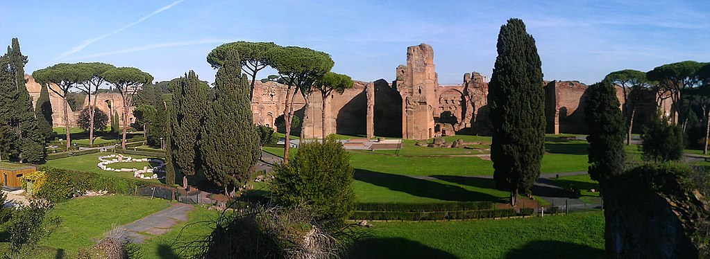 Thermes de Caracalla à Rome - Photo d'Ethan Doyle White