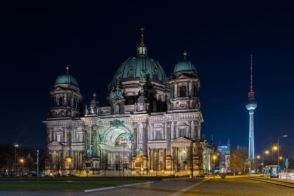Berliner Dom, cathédrale de Berlin : « Saint Pierre » sur Spree [Mitte]