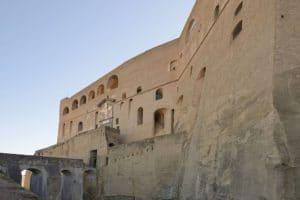 Castel Sant'Elmo à Naples : Chateau sur la colline [Vomero]