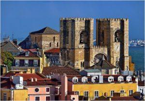 Cathédrale de Sé à Lisbonne : Bâtiment emblématique [Alfama]