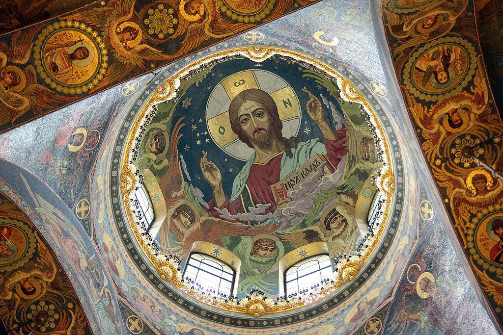 Intérieur de la Cathédrale Saint-Sauveur-sur-le-Sang-Versé à Saint Petersbourg - Photo d'Otto Jula