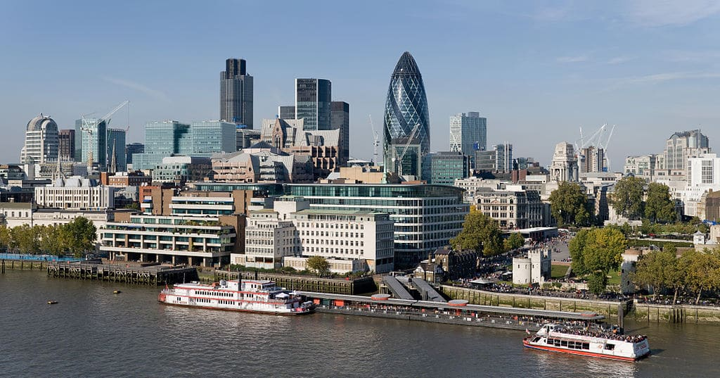 City, quartier historique de Londres et 2e centre financier au monde