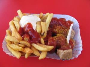 Currywurst, snack préféré des Berlinois
