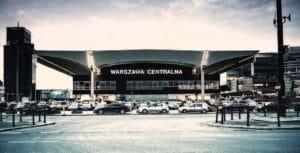 Gare Warszawa Centralna, architecture de 1970 à Varsovie [Centre-Nord]