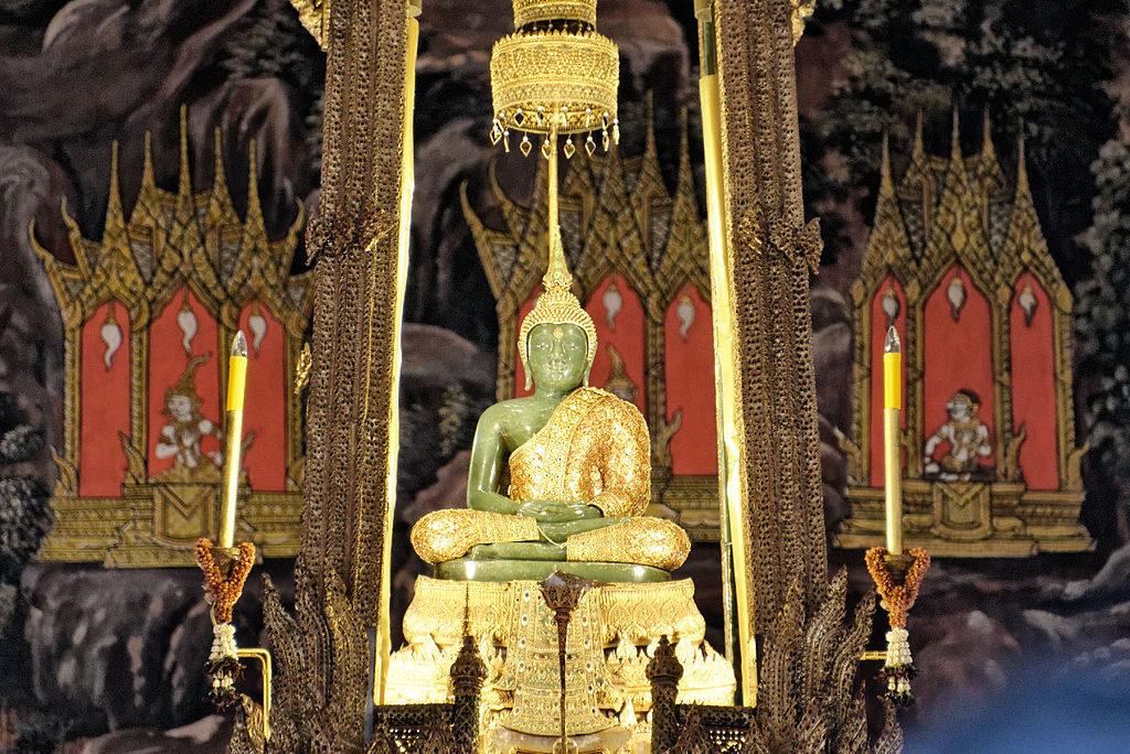 Bouddha d'Emeraude dans le Palais de Bangkok - Photo de JPSwimmer