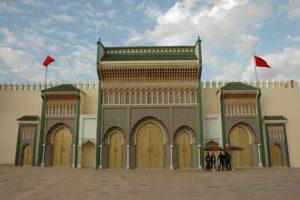 Fès Jdid, la nouvelle médina : Palais royal et serviteurs