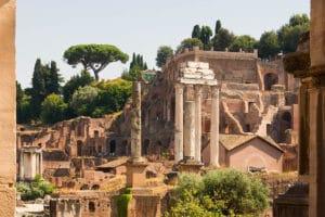 Palatin à Rome : Le colline des empereurs romains [Quartier antique]