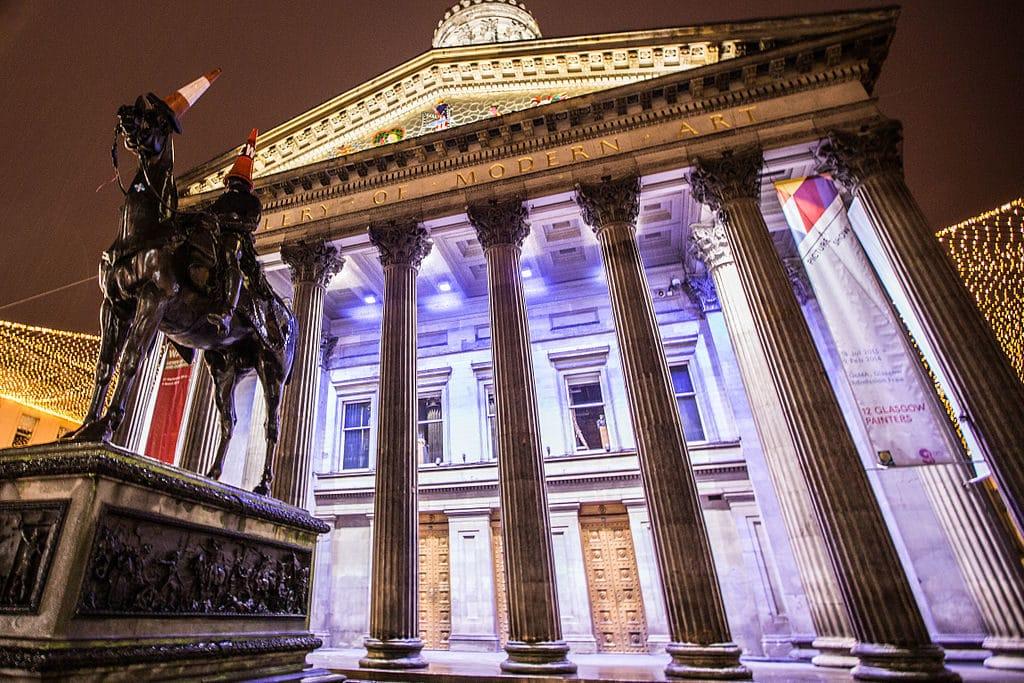 Edifice néoclassique du Musée d'art moderne de Glasgow (GoMA) - Photo de Tony Webster