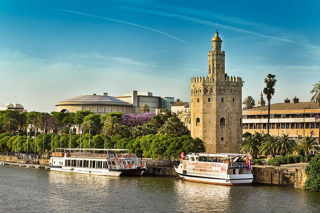 Torre del Oro à Séville : Gardienne de Guadalquivir