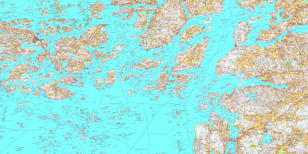Carte du nord de la mer Baltique : Venir à Stockholm en ferry depuis Helsinki, Riga, Tallinn - Image Halslax