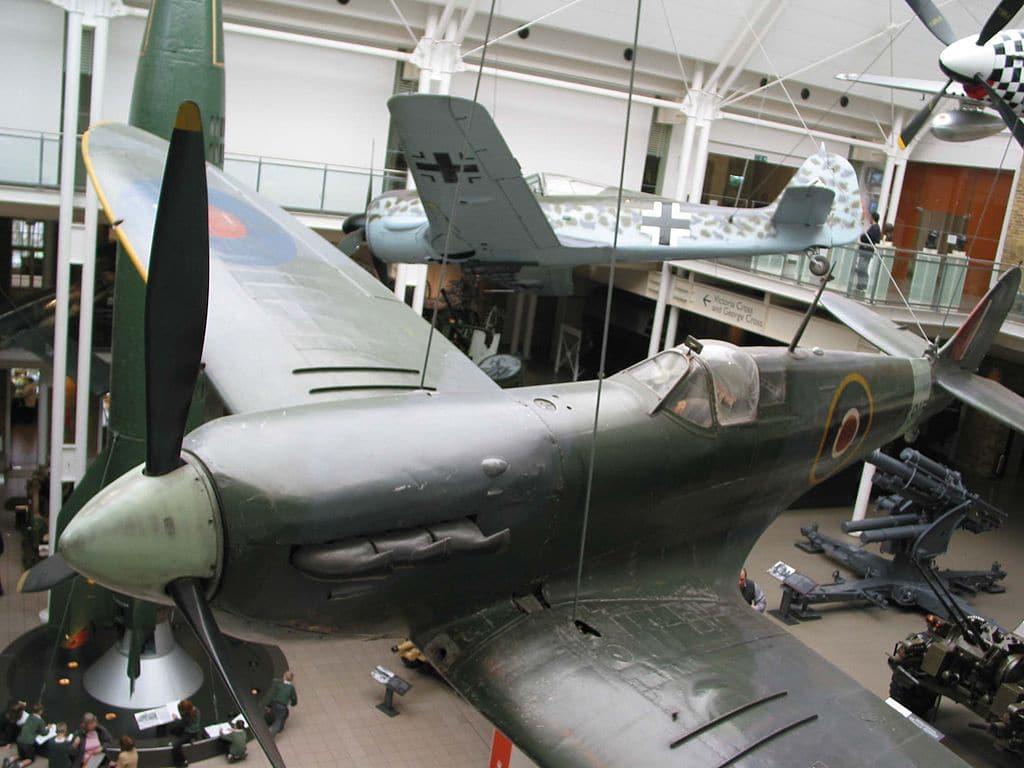 Imperial war museum, musée de la guerre à Londres [Lambeth]