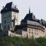 Chateau gothique de Karlštejn à 28 km de Prague