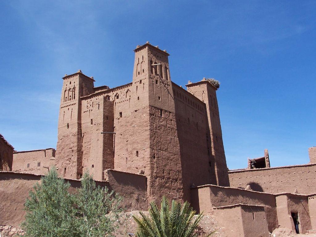 Kasbah à Aït Ben Haddou au Maroc.