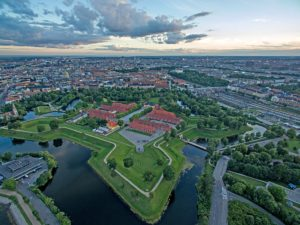 Kastellet à Copenhague : Citadelle et parc en étoile [Indre By]
