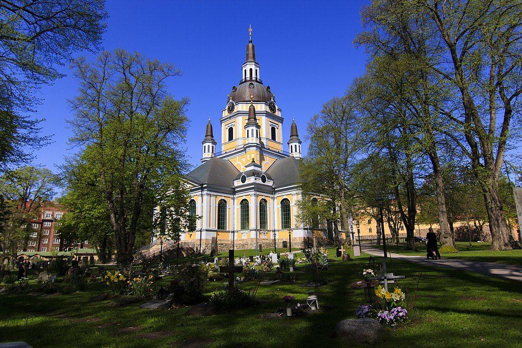Eglise Katarina kyrka à Stockholm - Photo d'AmlanThaTramp.