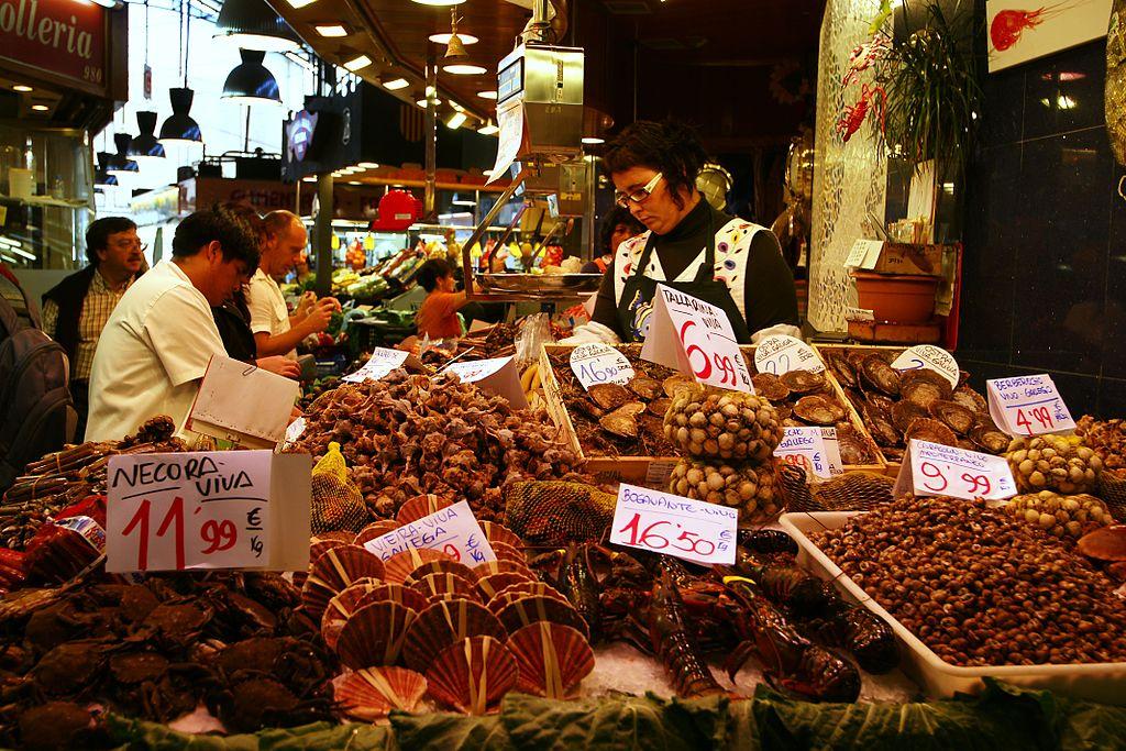 La Boqueria, le plus ancien marché couvert de Barcelone [Raval]