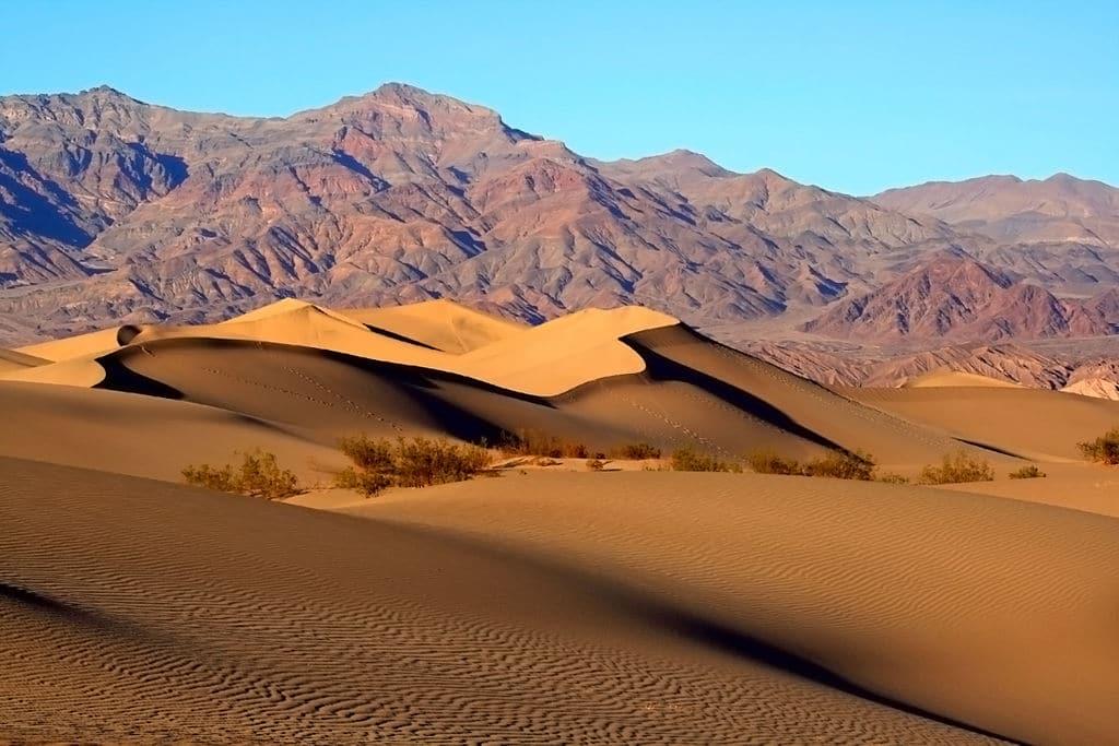 Death Valley ou vallée de la mort, il y fait chaud