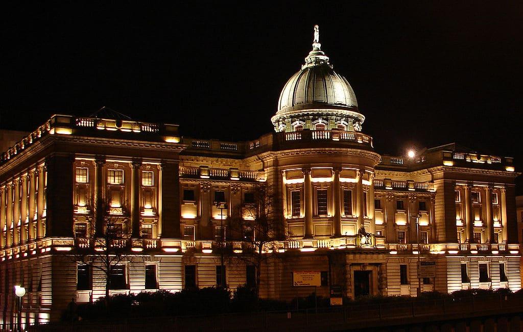 Mitchell Library à Glasgow : Majestueuse bibliothèque [West End]