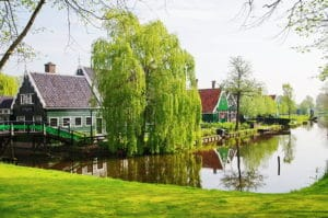 Villages traditionnels près Amsterdam : Volendam, Marken et Zaanse Schans
