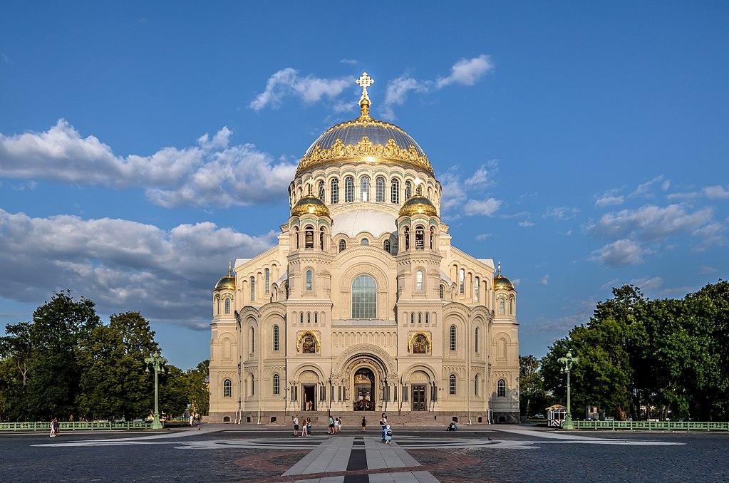 La cathédrale navale de Kronstadt - Photo d'Alex Florstein Fedorov / Wiki Commons