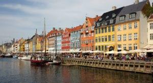 Indre By à Copenhague, centre ville historique et touristique