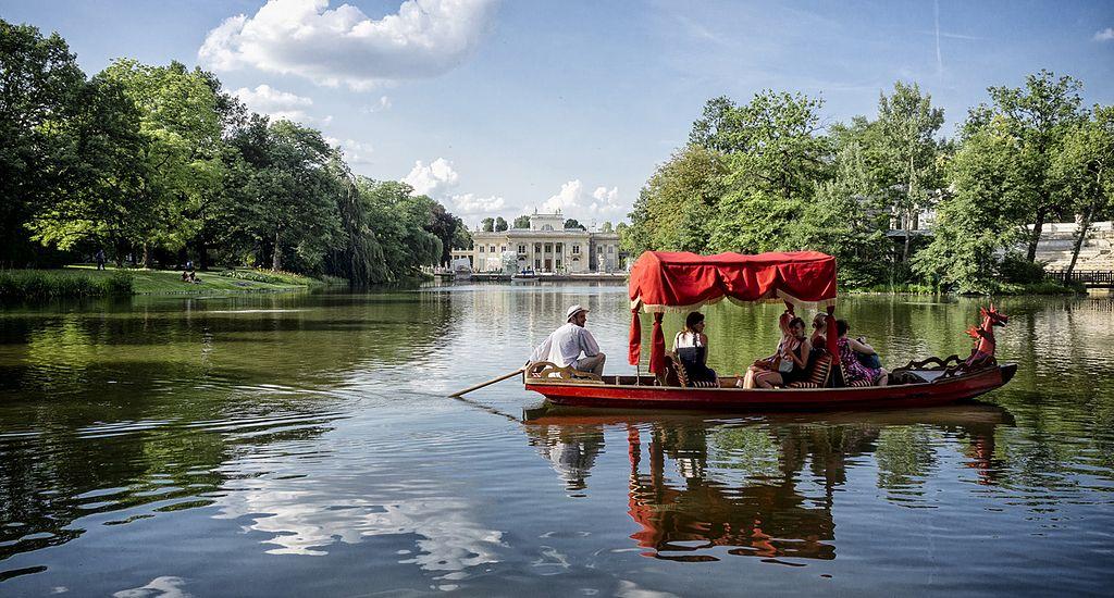 Parc Łazienki à Varsovie : Palais sur l'eau et concerts de Chopin [Ujazdow]