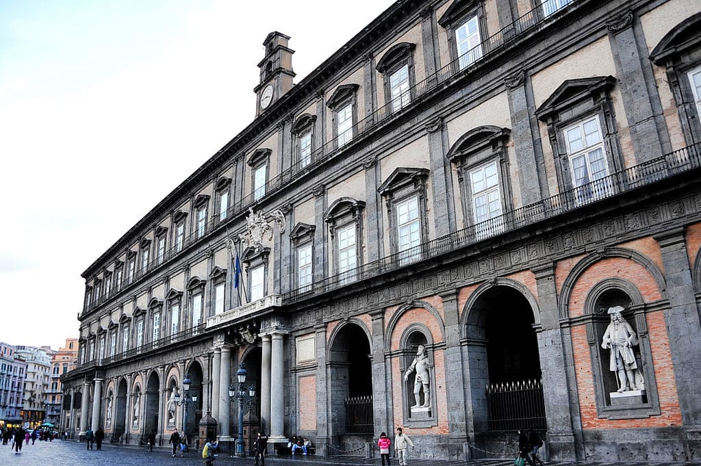 Palais Royal de Naples ou Palazzo Reale di Napoli - Photo de 劉小堯