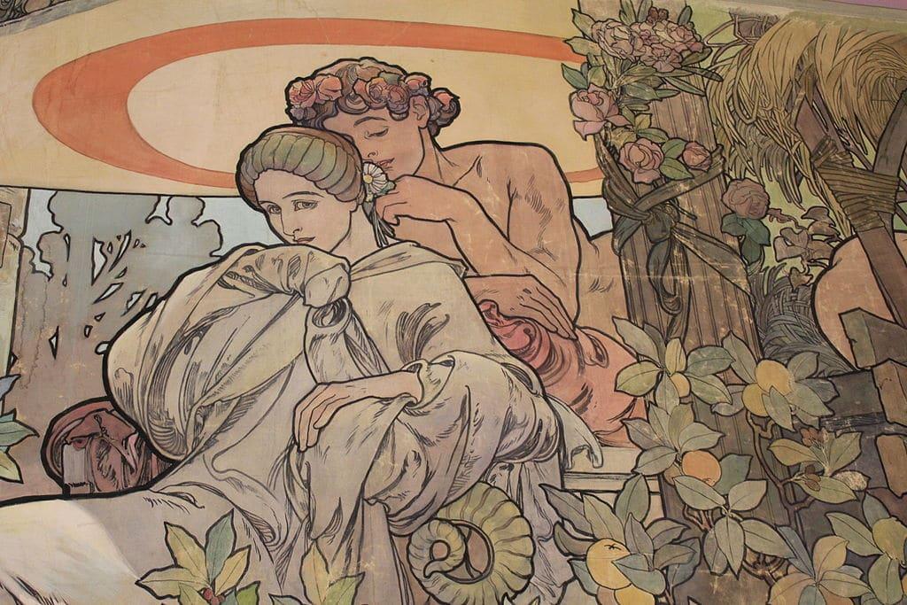Musée Mucha à Prague : Génie de l'art nouveau tchèque [Nove Mesto]