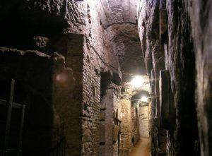 Catacombes de Rome : Sépultures des premiers chrétiens