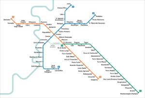 Metro à Rome : Plan, tarifs et conseils