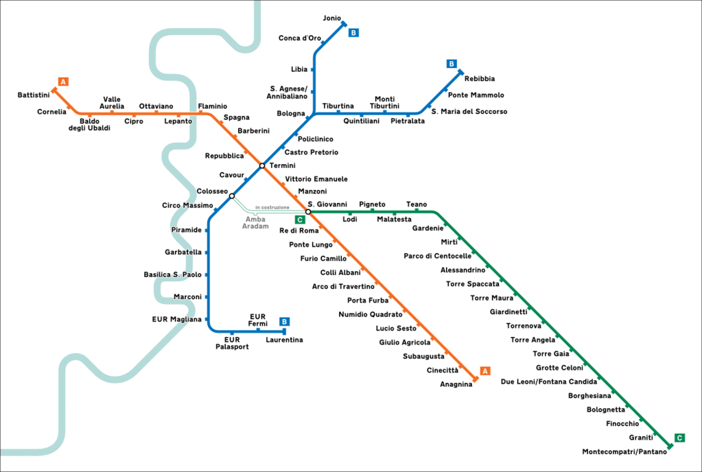 Carte Transport Barcelone Prix.Metro A Rome Plan Tarifs Et Conseils Vanupied